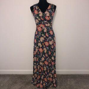 Boden Floral Print Maxi Dress, UK10R US6R